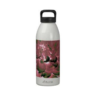 Dahlia - Honeymoon  - earth tone Reusable Water Bottle