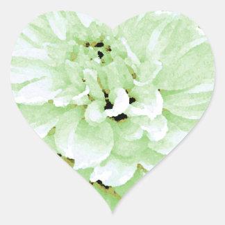 Dahlia - Honeymoon Heart Sticker