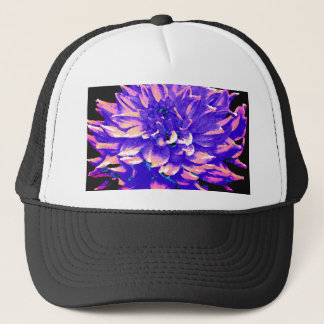 Dahlia - Honeymoon  - Purple Trucker Hat