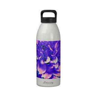 Dahlia - Honeymoon  - Purple Water Bottles