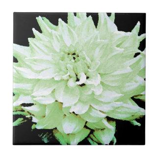 Dahlia - Honeymoon Ceramic Tile