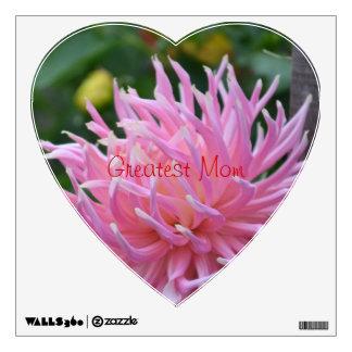 dahlia in s heart greatest Mom decal