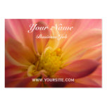 Dahlia Inside Large Business Cards (Pack Of 100)