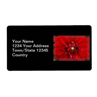 Dahlia Label