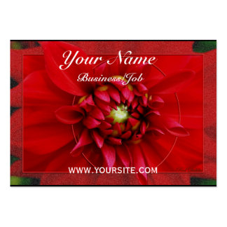 Dahlia Large Business Card