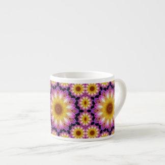 Dahlia madness espresso cup