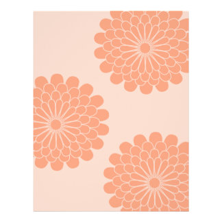 Dahlia Pattern-Double Sided Flyer
