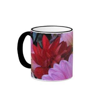 Dahlia Petals Mug