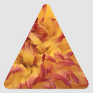 Dahlia Triangle Sticker