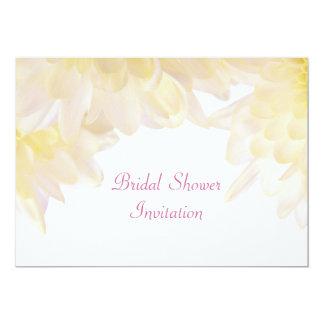 Dahlias Bridal Shower Card