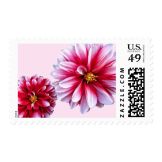 Dahlias Mommy and Child Hand In Hand Postage