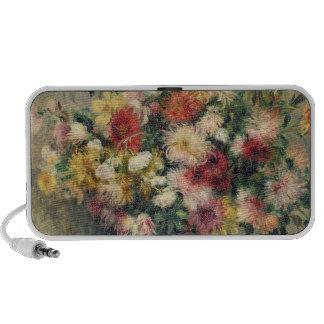 Dahlias (oil on canvas) iPhone speaker