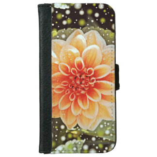 Dahlias Wallet Phone Case For iPhone 6/6s
