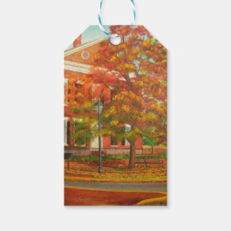 Dahlonega Gold Museum Autumn Colors Gift Tags