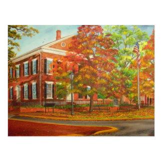 Dahlonega Gold Museum Autumn Colors Postcard