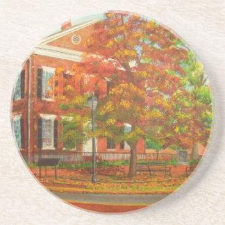 Dahlonega Gold Museum Autumn Colors Sandstone Coaster