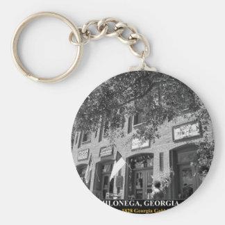 DAHLONEGA - Home of the 1828 Georgia Gold Rush Keychain