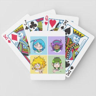 Dai Anima Club Characters Playing Cards