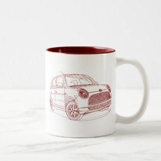 Dai Trevis 2009 Two-Tone Coffee Mug