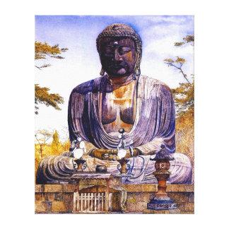 Daibutsu at Kamakura, Japan - Henry Newman Canvas Print