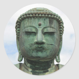 Daibutsu Classic Round Sticker
