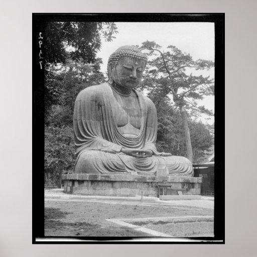 Daibutsu Great Buddha of Kamakura Poster