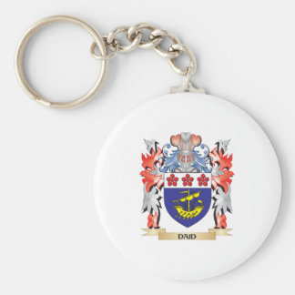 Daid Coat of Arms - Family Crest Keychain