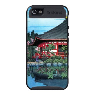 Daigo Denpo Temple Kyoto Hasui Kawase hanga iPhone 5 Covers