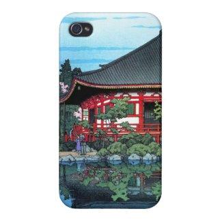 Daigo Denpo Temple Kyoto Hasui Kawase hanga iPhone 4 Cases
