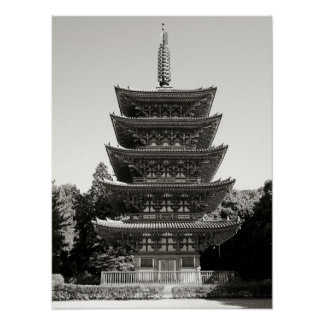 Daigo-ji Pagoda - Japan National Treasure Posters