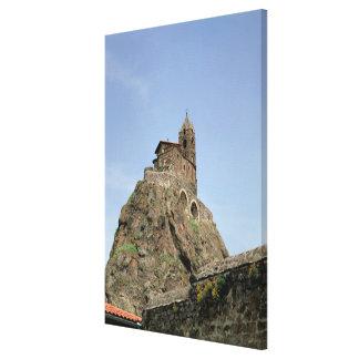 d'Aiguilhe del Saint Michel (foto) Impresiones En Lona Estiradas