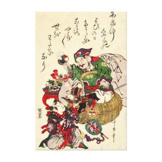 Daikokuten 1806 impresión en lienzo