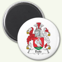 Daile Family Crest Magnet