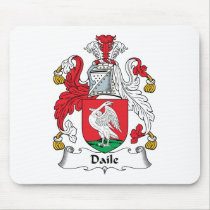 Daile Family Crest Mousepad