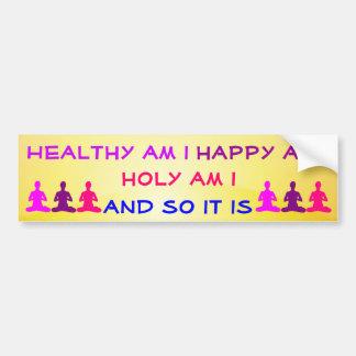Daily Affirmation bumper sticker
