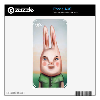 Daily Bunny Decal For The iPhone 4S