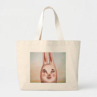Daily Bunny Large Tote Bag