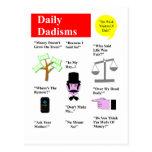 Daily Dadisms Postcard