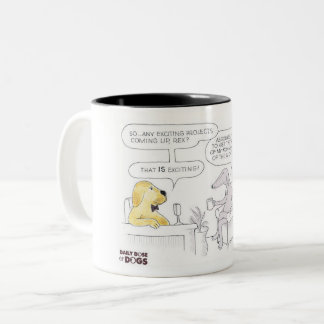 Daily Dose of Dogs Talk Show Mug