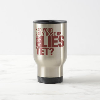 Daily Dose of Lies (UK Media) Travel Mug