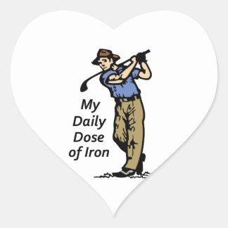 Daily Dose Heart Sticker