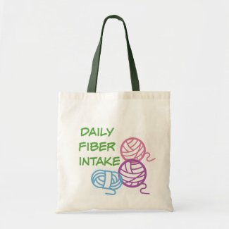 Daily Fiber Intake Tote Bag