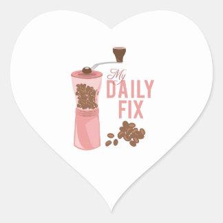 Daily Fix Heart Sticker