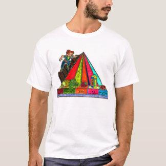 Daily Food Groups Pyramid T-Shirt