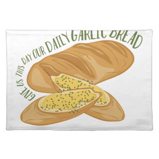 Daily Garlic Bread Placemat