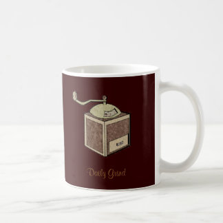 Daily Grind Coffee Mugs