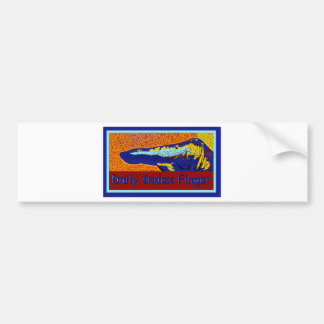 Daily Index Finger Logo Bumper Stickers