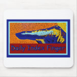 Daily Index Finger Logo Mouse Pads