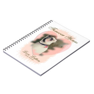 """Daily Journal """"Forever Yours Love Letters"""" Spiral Notebook"""