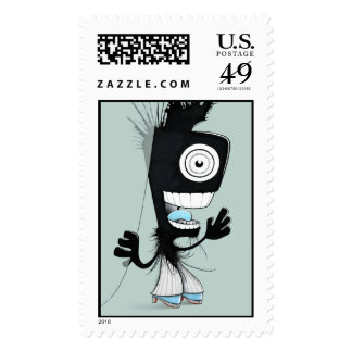 Daily Monster Stamps